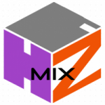 Logo da emissora Rádio HQZ Mix