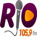 Logo da emissora Rádio Rio 105.9 FM