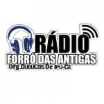 Logo da emissora Rádio Forró das Antigas