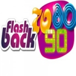 Logo da emissora Rádio Flash Back