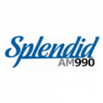 Logo da emissora Rádio Splendid 990 AM