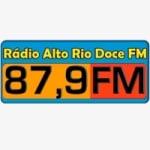 Logo da emissora Rádio Alto Rio Doce 87.9 FM
