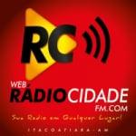 Logo da emissora Web Rádio Cidade FM