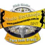 Logo da emissora Rádio Paulo Sertanejo