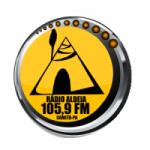 Logo da emissora Rádio Aldeia 105.9 FM
