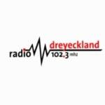 Logo da emissora Dreyeckland 102.3 FM