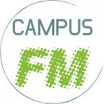 Logo da emissora DuE Campus 105.6 FM