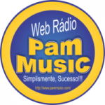 Logo da emissora Rádio Pam Music