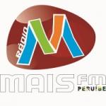 Logo da emissora Rádio Mais FM Peruibe