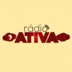 Logo da emissora Rádio Ativa Naviraí