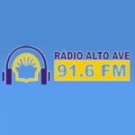Logo da emissora Rádio Alto Ave 91.6 FM