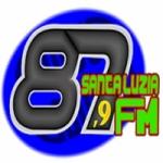 Logo da emissora Rádio Santa Luzia 87.9 FM