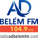 Logo da emissora Rádio AD Belém 104.9 FM