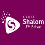 Logo da emissora Shalom FM  Balsas