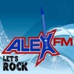 Logo da emissora Alex FM Radiostation