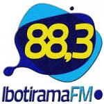 Logo da emissora Rádio Ibotirama 88.3 FM