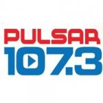 Logo da emissora Radio Pulsar 107.3 FM