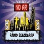 Logo da emissora Rádio Black & Rap