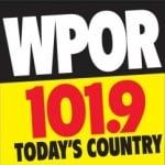 Logo da emissora Radio WPOR 101.9 FM