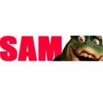 Logo da emissora Rádio Sam