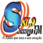 Logo da emissora Rádio Sossego FM