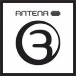 Logo da emissora Rádio Antena 3 105.2 FM