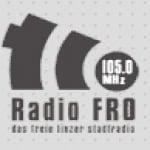 Logo da emissora Radio Fro 105 FM