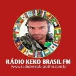 Logo da emissora Rádio Keko Brasil FM