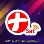 Logo da emissora RádioSat Mais Forró