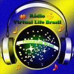 Logo da emissora Rádio Virtual Life Brasil