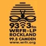 Logo da emissora Radio WRFR 93.3 FM