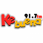Logo da emissora Radio Ke Buena 91.7 FM
