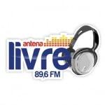 Logo da emissora Rádio Antena Livre 89.6 FM