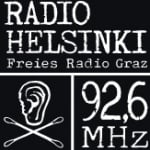 Logo da emissora Radio Helsinki 92.6 FM