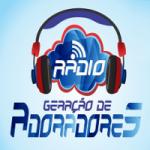 Logo da emissora Rádio Geração de Adoradores
