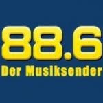 Logo da emissora Radio Hit 88.6 FM