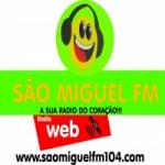 Logo da emissora Rádio São Miguel 104.9 FM