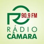Logo da emissora Rádio Câmara 90.9 FM