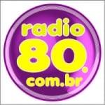 Logo da emissora Rádio 80