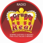 Logo da emissora Grupo Real de Supermercados