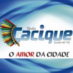 Logo da emissora Rádio Cacique 1160 AM