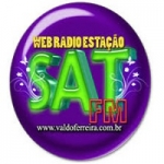Logo da emissora Estação Sat FM