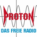 Logo da emissora Radio Proton 104.6 FM