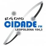 Logo da emissora Rádio Cidade 104.3 FM