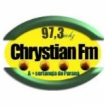 Logo da emissora Rádio Chrystian 97.3 FM