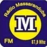 Logo da emissora Rádio Massaranduba 87.9 FM