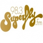 Logo da emissora Radio Superfly FM 98.3 FM
