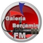 Logo da emissora Rádio Galeria Benjamin FM