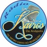 Logo da emissora Rádio Kairós de Anápolis