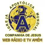 Logo da emissora Web Rádio e TV Amém